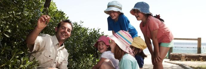 Childrens activities - junior ranger